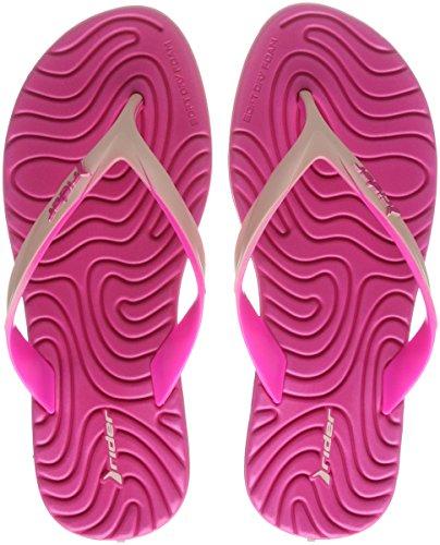 Rider Damen Smoothie IV FEM Zehentrenner, Mehrfarbig (Pink), 38 EU
