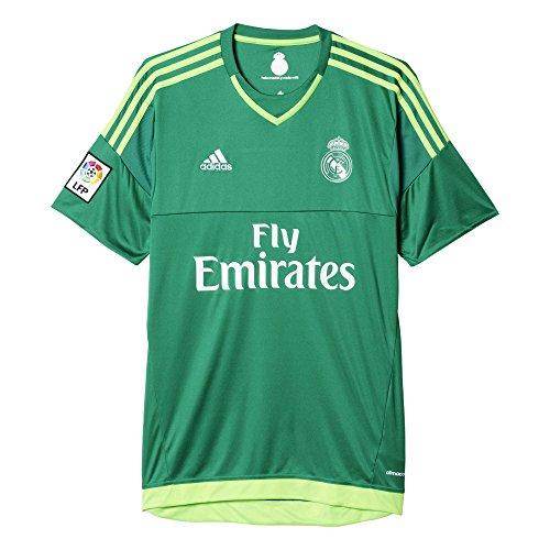 adidas Herren Trikot Real Madrid Auswärts Torwart, Bold-/Solar Green, XL