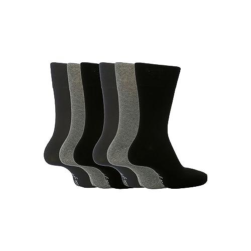 52c86716fc8b Gentle Grip - 6 Pairs Mens non elastic diabetic socks 7-12