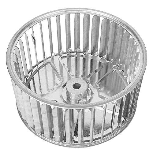 Rueda de soplador de metal, secador galvanizado Rueda de soplador Dirección de la rueda de viento Hecho de hoja galvanizada Hoja galvanizada para ventilador centrífugo de alas múltiples