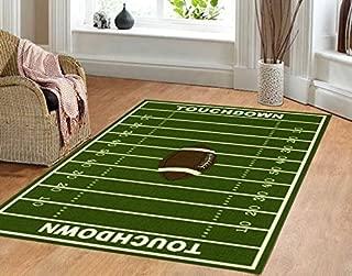 Best football bedroom rug Reviews