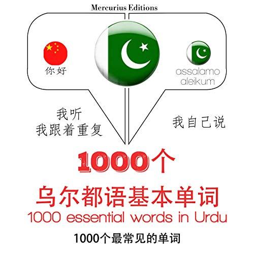 1000 essential words in Urdu cover art