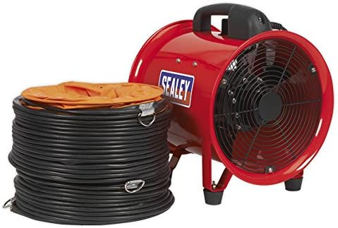 Sealey VEN250 Tulsa Mall 250mm Portable Ventilator Ducting Product with by 5m Seale