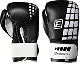 Energetics FT - Guantes de Boxeo (6 onzas), Color Blanco y Negro