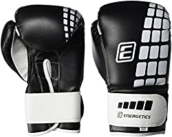 ENERGETICS Boxing Gloves FT, Black / White, 8 oz