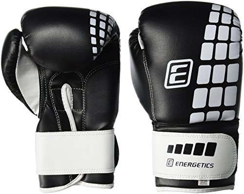 ENERGETICS Boxhandschuhe FT, Schwarz/Weiss, 14 oz
