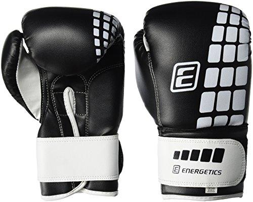 ENERGETICS Boxhandschuhe FT, Schwarz/Weiss, 6 oz