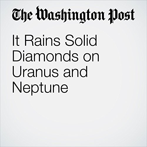 It Rains Solid Diamonds on Uranus and Neptune copertina