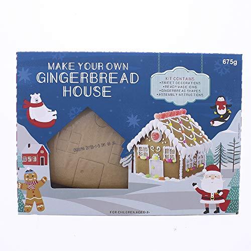 CHOCOLAT Gingerbread House Kit bricolage de noël activité pour le réveillon de Noël