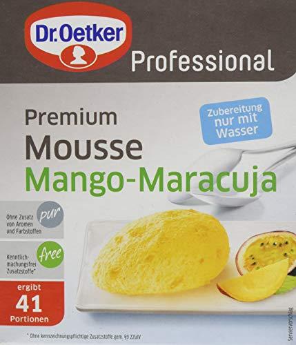 Dr. Oetker Professional Premium Mousse Mango-Maracuja, 650 g