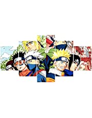 Naruto Poster Classes Of Minato And Kakasi Anime Wall Five Lotus Painting Art Painting Unframed For Home Canvas Five Lotus Painting Art Decor
