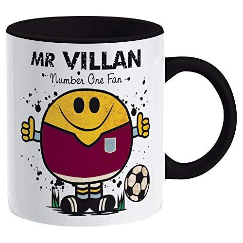 Mr Villan Mug (Number One Fan) for Aston Villa fans
