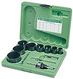 Greenlee - Holesaw Kit,Electrician/Plumbr, Hole Making (891)