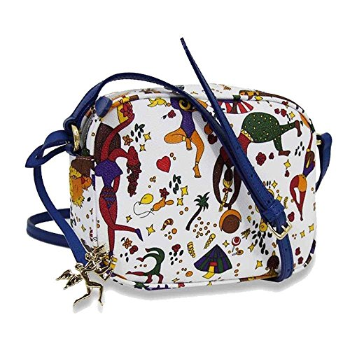 Piero Guidi borsa donna a tracolla piccola Magic Circus Soft bianco - 210274038.Y7