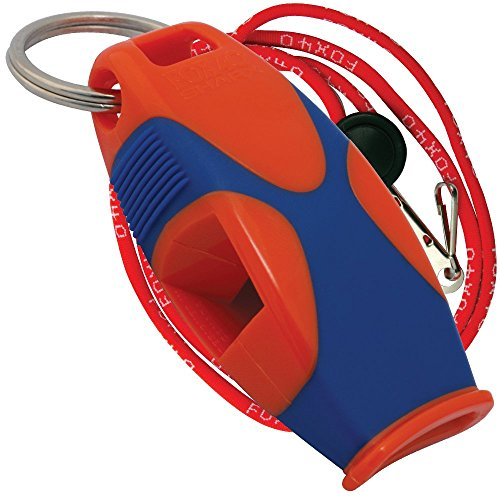 Fox 40 Sharx Whistle With Lanyard Referee-Coach,Survival,Outdoor,Safety,Dog-Red