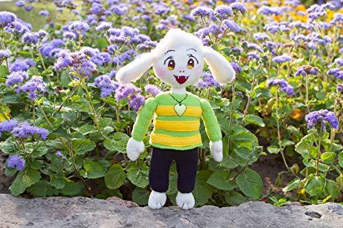 Asriel plush Undertale ispired, handmade soft toy, Asriel Undertale