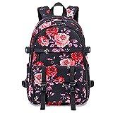 HBRE Mochila Backpack para El Laptop,Mochila Portatil 15.6 De Seguridad con Puerto De USB, Impermeable Mochilas De Marcha para Los Estudios, Viajes O Trabajo,Black