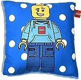 Kissen Lego man gefüllt 45 x 45 cm
