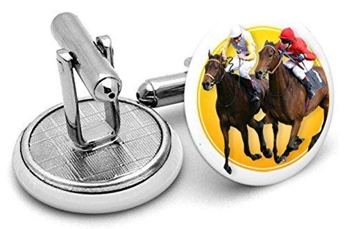 Royal Ascot Racing boutons de manchette, Homme, cadeaux, mariage, Groom, jockys,