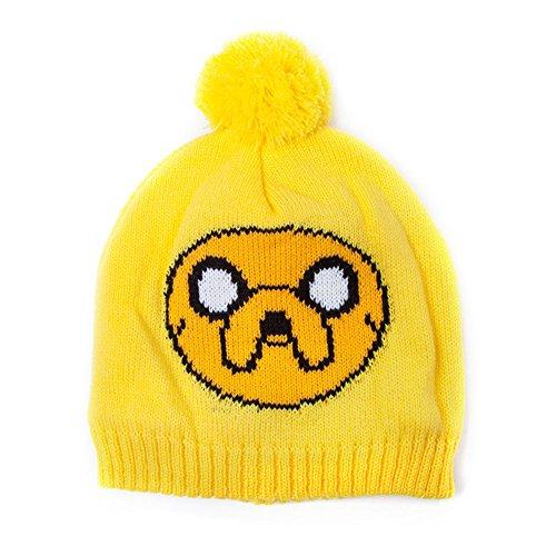 Adventure Time Jake Bobble Beanie (amarillo)