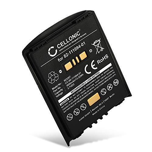 CELLONIC® Akku kompatibel mit Motorola/Zebra/Symbol MC65 MC659b MC67 MC55 MC55a0 MC55a MC5590 MC5574-82-111094-01 BTRY-MC55EAB02 (3600mAh) Ersatzakku Batterie