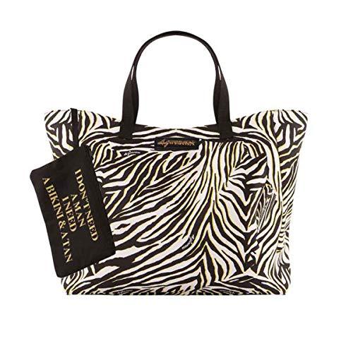borsa mare 4giveness Borsa mare zebra 4Giveness donna DONNA Multicolore FGAW0916