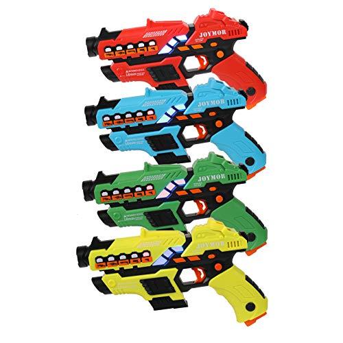 JOYMOR Upgraded Laser Tag Set, Toy Guns, 150FT...