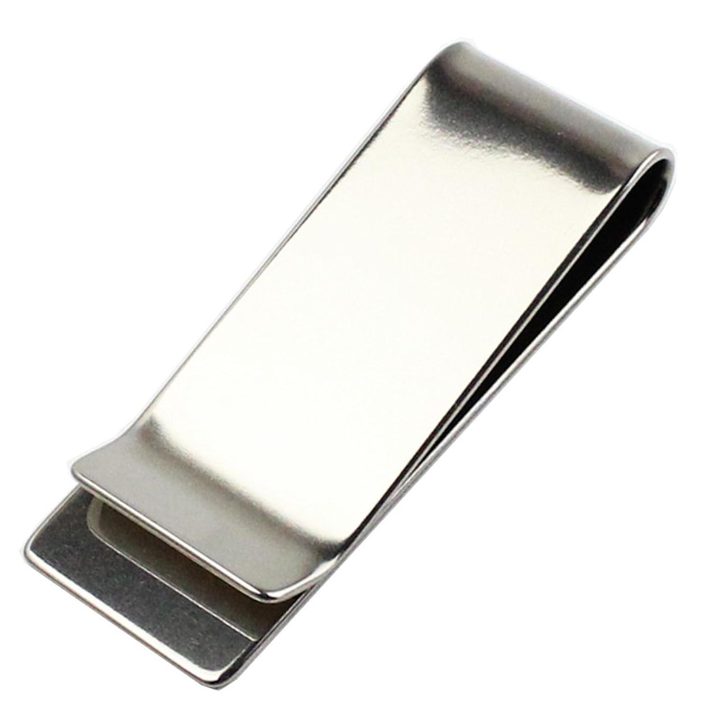 チタンアクセサリー レジエ (leger) 純チタン製マネークリップ(財布) MC01