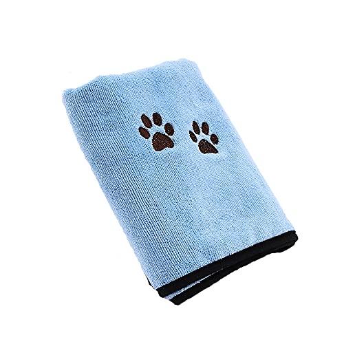 ペット用 バスタオル 犬、猫 厚手 マイクロファイバータオル 大判 体拭きタオル 柔らかい 吸水速乾 お風呂用品