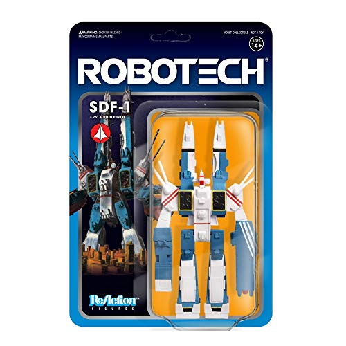 Figura SDF-1 10 Cm. Robotech. Reaction. Super 7