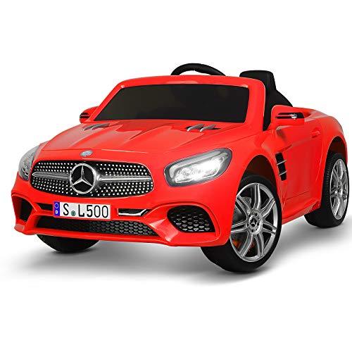 Uenjoy 12V Licensed Mercedes-Benz SL500 Kids Ride On Car Electric Car Review