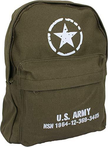 Fostex WWII Series Children's US Army Rucksack (Olive)