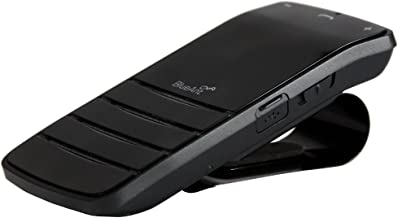 BlueAnt CMT-USEN Commute Voice Control Speakerphone with True Speech to Text - Bluetooth Car Kit - Retail Packaging - Black
