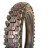 Rooster Tires - MZ1 Rear Tire 120/90-18 - Motocross MX Offroad Enduro Dirt Bike Tires (120/90-18)