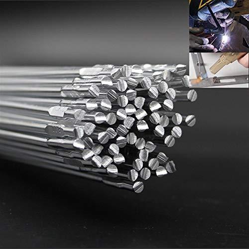 Varillas para soldar 500 mm de aluminio a baja temperatura electrodo de soldadura de aluminio con núcleo de fundente de soldadura varilla de soldadura de alambre de aluminio hilos con núcleo de Magnes