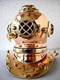 Antique Reproduction Sea Diver Decorative Diving Helmet Desk Nautical Replic