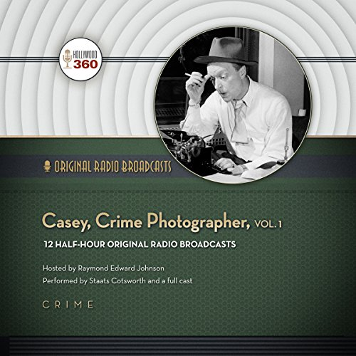 Casey, Crime Photographer, Vol. 1 copertina