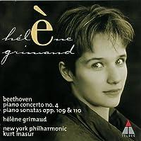 BEETHOVEN: PIANO CONCERTO, 4/ PIANO SONATA,30,31(reissue) by Helene Grimaud (2011-07-20)