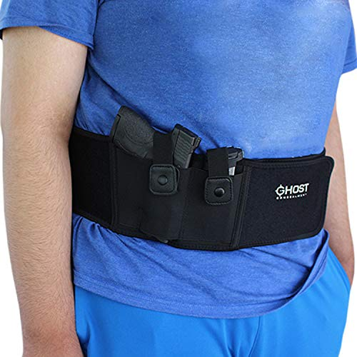 10. Ghost Concealment Belly Band Holster for Concealed Carry | Fits up to a 54