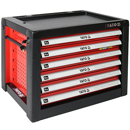 Yato YT-09155 Werkzeugkasten mit 6Schubladen