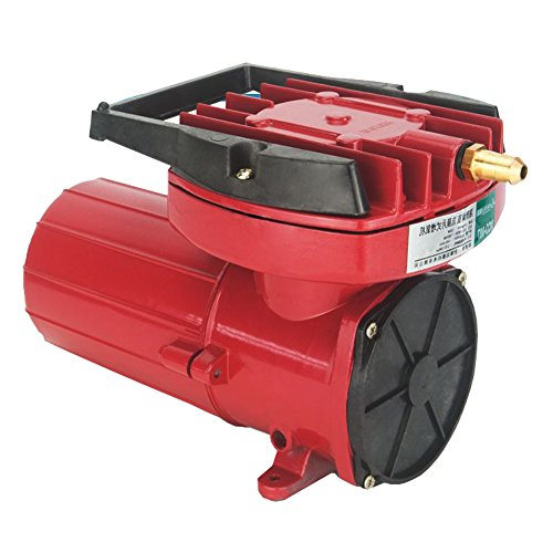 DC 12V Portable Fish Tank Pond Aquaculture Hydroponics Aquarium Air Pump Compressor Aerator 100W 105LPM/Min, Oxygen Supplies