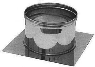 Piastra di base in acciaio inox per canna fumaria (DN 160)