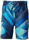 Kanu Surf Boys' Big Quick Dry UPF 50+ Beach Swim Trunk, YOLO Navy, 8