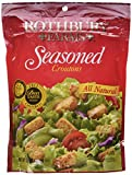 Best Croutons - Rothbury Farms, All Natural Seasoned Croutons, 5oz Pouch Review