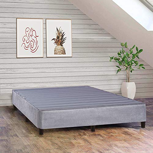 Greaton Plateform Bed For Mattress, Eliminate Need For Box...