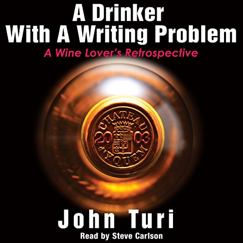 A Drinker with a Writing Problem audiobook cover art