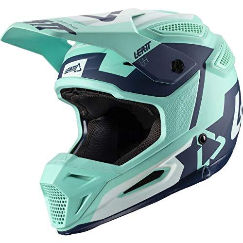 Leatt GPX 5.5 V20.1 Adult Off-Road Motorcycle Helmet - Zebra/Large