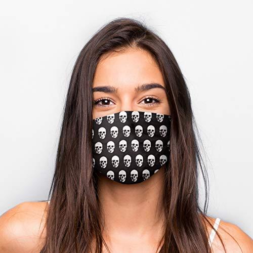 Generisch Kultmasken Mund Nasen Maske Totenkopf