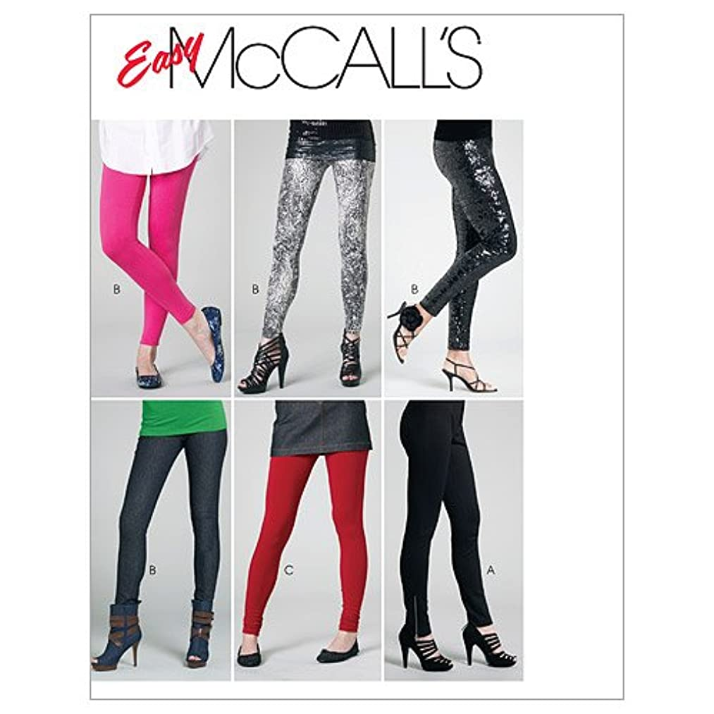 McCall's Patterns M6173 Misses'/Miss Petite Pants and Leggings, Size Y (XSM-SML-MED)