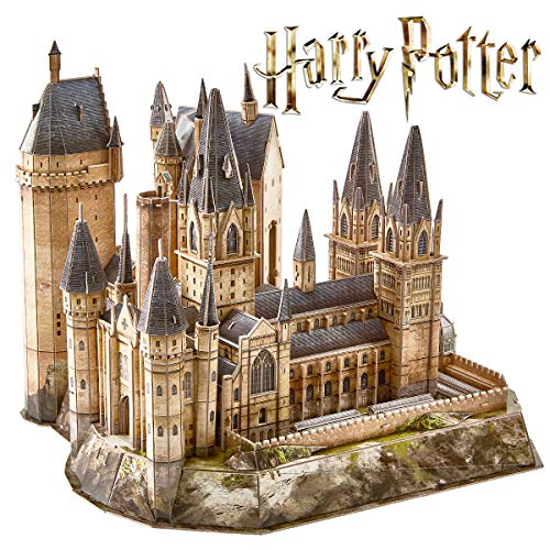CubicFun Puzzle 3D Harry Potter Hogwarts Astronomy Tower Kit di Costruzione Modello Realistico Rompicapo Miglior Souvenir Regalo per Bambini e Adulti,
